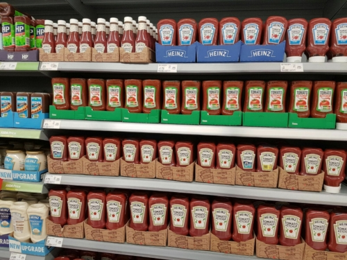 Ketchup In Aisle
