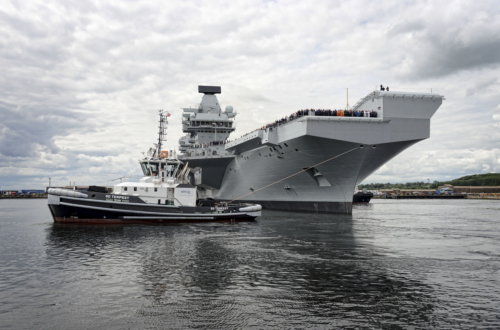 Rs61601 Hms Queen Elizabeth Exit From Rosyth 26 June 2017 0102